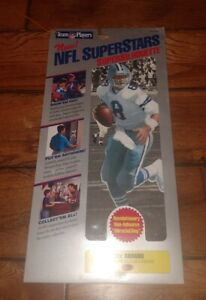 TROY AIKMAN DALLAS COWBOYS VINTAGE NFL 10' CLING SUPERSIHOUETTE NFL SUPERSTARS