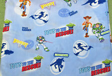 DISNEY TOY STORY FITTED SHEET BABY TODDLER CRIB BED TOYS TO RECUE SPACE RANGER