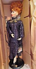 Porcelain Doll Lucille Ball Hollywood Walk Of Fame Collection Limited Edition