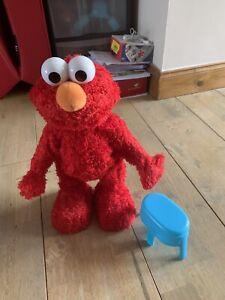123 Sesame Street Tickle Me Elmo Plush Toy