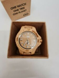 Wewood  Maple Wood Men's Boxed Watch