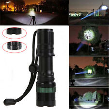 3000lm CREE XM-L Q5 LED Zoomable Bike Front Light Flashlight Torch Lamp+Holder