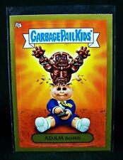 GARBAGE PAIL KIDS 2011 Flashback Series 3 - ADAM Bomb Mania GOLD #9 Muscles -FS3