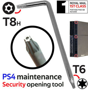 1st CLASS POST Torx T8 T6 Opening Removal Screwdriver Key PS4 PS3 Console Tool