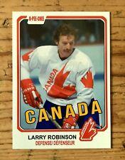 1981-82 OPC O Pee Chee Custom Larry Robinson Team Canada Card