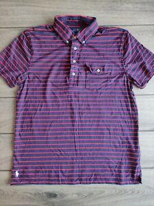 Men's Ralph Lauren Multicoloured 100% Cotton Polo Shirt Size L