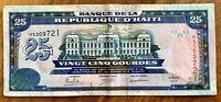 HAITI 2015 25 GOURDES BANKNOTE E.F Cond.
