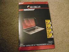 "Zagg Invisible Shield Smudge Proof For Toshiba Satellite 14"" Touchscreen New!!!"