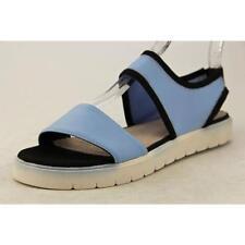 Calzado de mujer sandalias con tiras azul