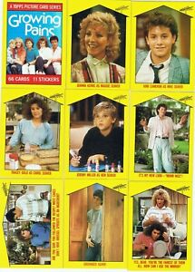 Growing Pains by Topps in 1988. Singles $1 + Discounts
