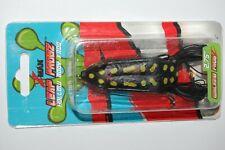 "zman bass hollow body frog leap frogz walking  2.75""  topwater black knight"