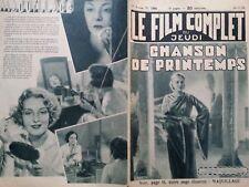 """LE FILM COMPLET 1934 N 1564 """" CHANSON DE PRINTEMPS avec CLAIRE FUCHS et IDA WUST"""