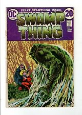 Swamp Thing 1 Len Wein Berni Wrightson DC Comics 1972 FIRST ISSUE