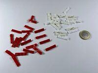 X9 HO HERPA Albedo 20x Rot,20x Weiß Grill Kühlergrill 1:87 für Volvo F10 F12 F16