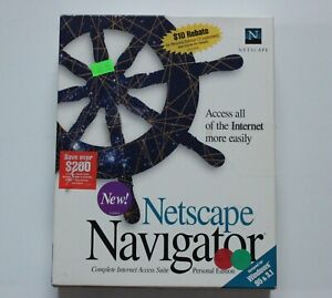 Netscape Navigator Personal Edition for Windows 95 & 3.1