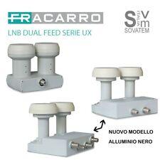 LNB DUAL FEED FRACARRO SERIE UX DISPONIBILE 1-2-4 USCITE HOT BIRD E ASTRA DISEQC