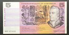 Australian 1967 $5 Coombs-Randall Signature banknote R202F First Prefix RARE