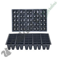 100 X 50 Cell Full Size Seed Tray Inserts Plug Trays Bedding plant Packs Plasti