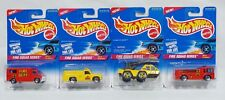 Hot Wheels 1996 Fire Squad Series Complete Set of 4