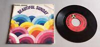 Ref 155 Vinyle 45 Tours Beautiful Sunday Daniel Boone