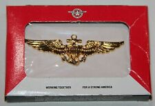 Vintage U.S. Marine Corps, U.S. Navy Full Size Pilot Wings, New In H&H Box