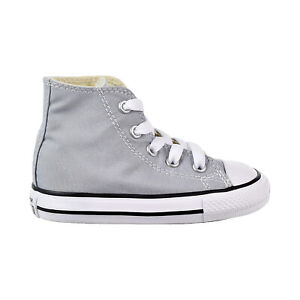 Converse Chuck Taylor All Star Hi Toddler's Shoes Wolf Grey 758209F
