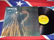 WARLOCK - true as steel  LP 1986  VERTIGO 830237-1 OIS