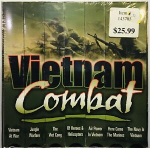 Vietnam Combat Box (Set of 7) VHS Tapes 1965-1975 US History Documentary Sealed