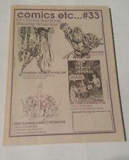 comics etc....# 33,1993 merchandise catalogue