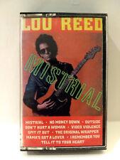 Lou Reed: Mistrial (cassette)