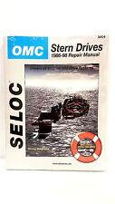 SELOC 3404 OMC Cobra Engine/Outdrive Repair Service Manual sterndrive 1986 1998