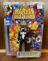 Black Costume Spider-Man Vintage Marvel Hall Of Fame Action Figure New 1996 90s