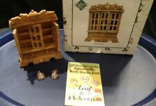 "Charming Tails ""Curio Cabinet"" Dean Griff 3 Door Display Cabinet For Mini"