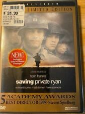 Saving Private Ryan Dvd widescreen Limited Edition Brand New! Free Shipping!