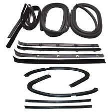 New Set of 12 Door Weatherstrip Rubber Seal Kit for Chevy C20 Suburban 1973-1980