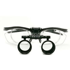 UK 2.5X-3.5X Surgical Dental Medical Binocular Loupes Variable Magnification