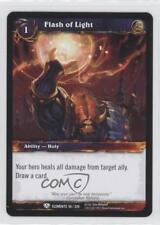 2010 World Warcraft TCG: War the Elements #56 Flash of Light Gaming Card 0b5