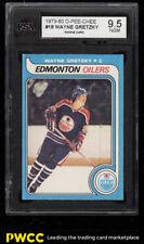 1979 O-Pee-Chee Hockey Wayne Gretzky ROOKIE RC #18 KSA 9.5 (PWCC)