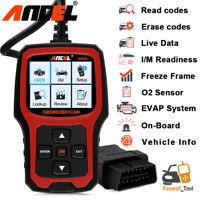 AD410 OBDII Code Reader Scanner Check Engine Light O2 Sensor Test  I/M Readiness