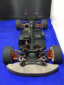 Hpi Vintage Rs4 Sport 3 Flux Chassis Working Rc Car Spares Vgc Alloy Upgrades