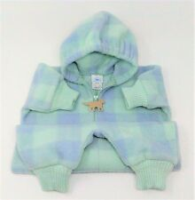 Thick Fleece Hartstrings Outdoor Winter Baby Bunting 6-9 mos Mint Green Purple