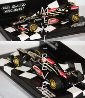 Minichamps F1 Lotus Renault E21 Showcar 2013 K. Raikkonen 1/43 410130007