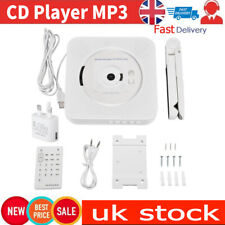 Portable Wall Mounted Bluetooth Stereo Remote Control CD Mp3 Player Radio UK