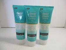 3 NEUTROGENA DEEP CLEAN PURIFYING CLAY CLEANSER/MASK 5 OZ EACH EXP 8/19+ JL 4368