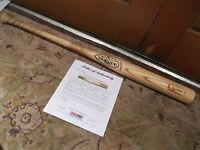 Yunel Escobar Game Used Louisville Slugger Baseball Bat PSA Certified