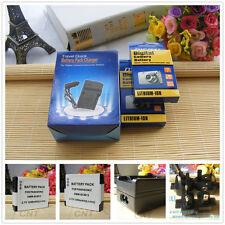 2X DMW-BCM13 DMW-BCM13E Battery + Charger for Panasonic Lumix Cameras