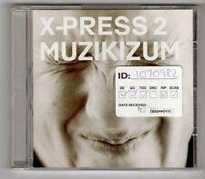 (GY602) X-Press 2, Muzikizum - 2002 CD