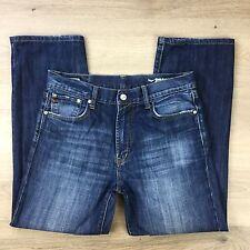 Edwin S505 Straight Blue Denim Men's Jeans Size 33 x 28 (F6)