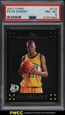 2007 Topps Basketball Kevin Durant ROOKIE RC #112 PSA 8 NM-MT