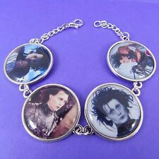 EDWARD SCISSORHANDS BRACELET johnny depp tim burton goth punk emo scene scissors